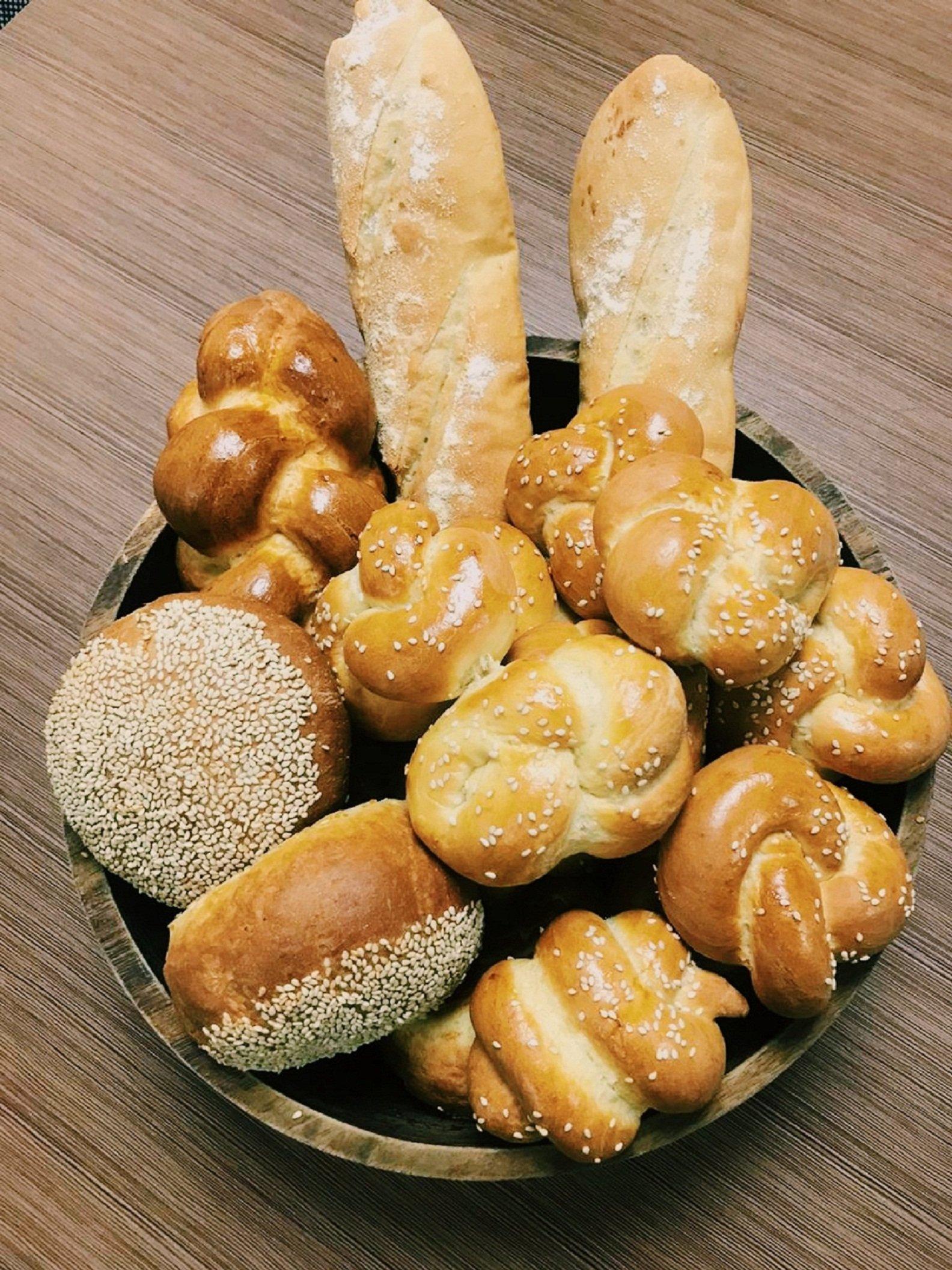 In house bread basket