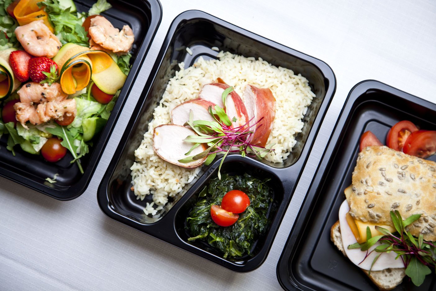 Assorted Packed Lunches