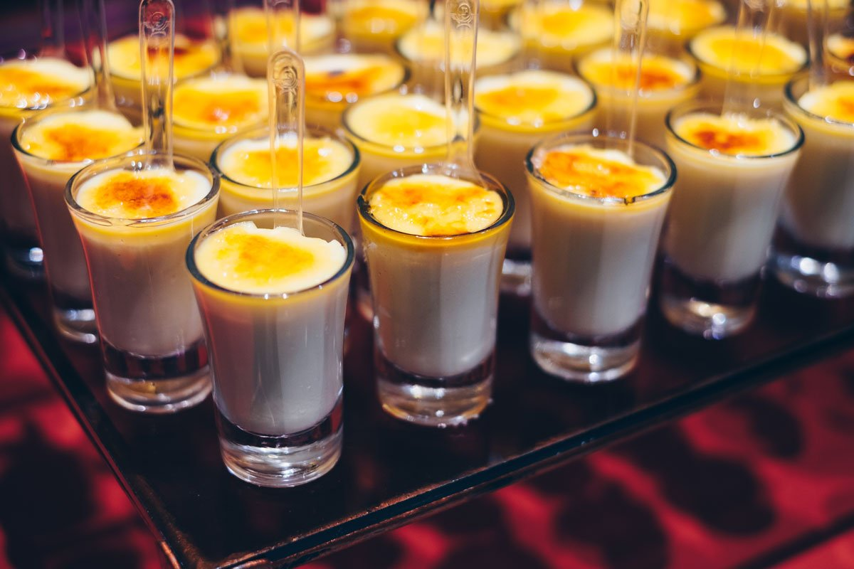 Creme Brulee in Shots
