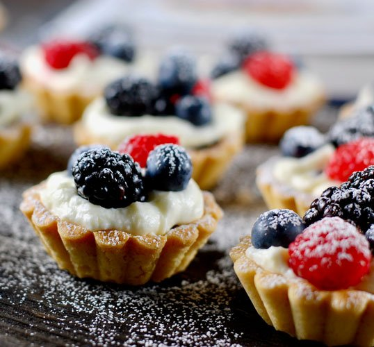 Red Fruits Mini Tartlets